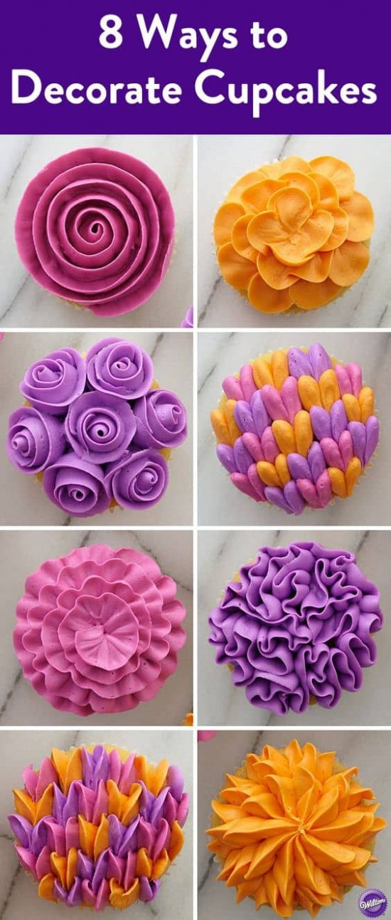 Wilton Cupcake Decorating Tips