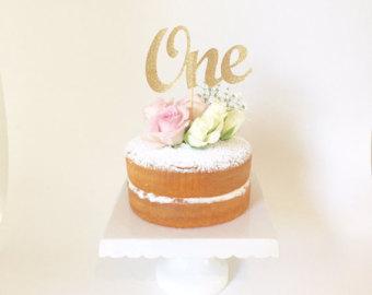 1st Birthday Cake Topper