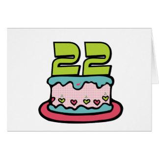 22 Year Old Birthday Cake Ideas