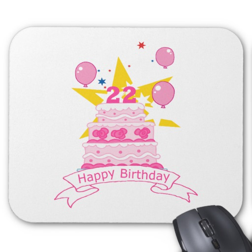 22 Year Old Birthday Cake