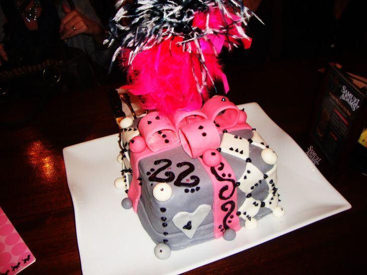 22nd Birthday Cake