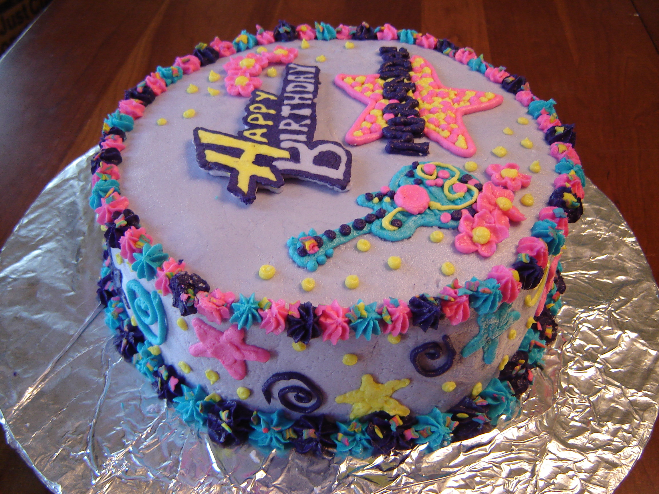 Super 5 Hannah Montana Birthday Cakes For Girls Photo 7 Year Old Girl Birthday Cards Printable Inklcafe Filternl