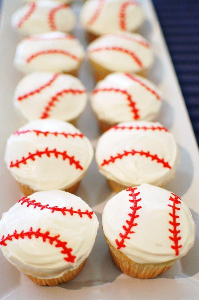 Baseball Cupcakes