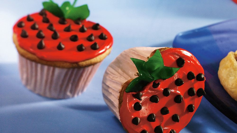 Betty Crocker Strawberry Cupcakes