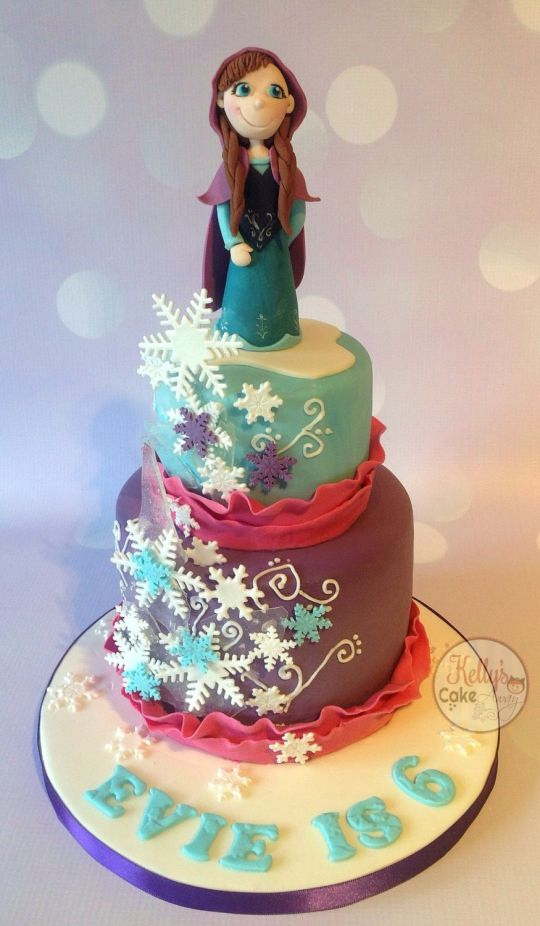 13 Photos of Anna From Frozen Cakes