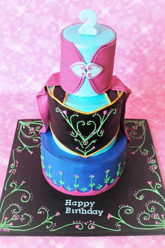 Birthday Cake Frozen Anna