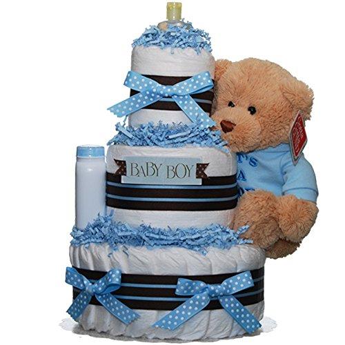 Boy Baby Shower Diaper Cake