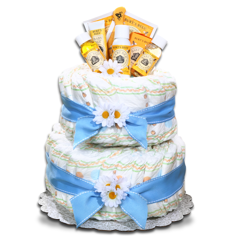 Boy Baby Shower Gift Diaper Cake