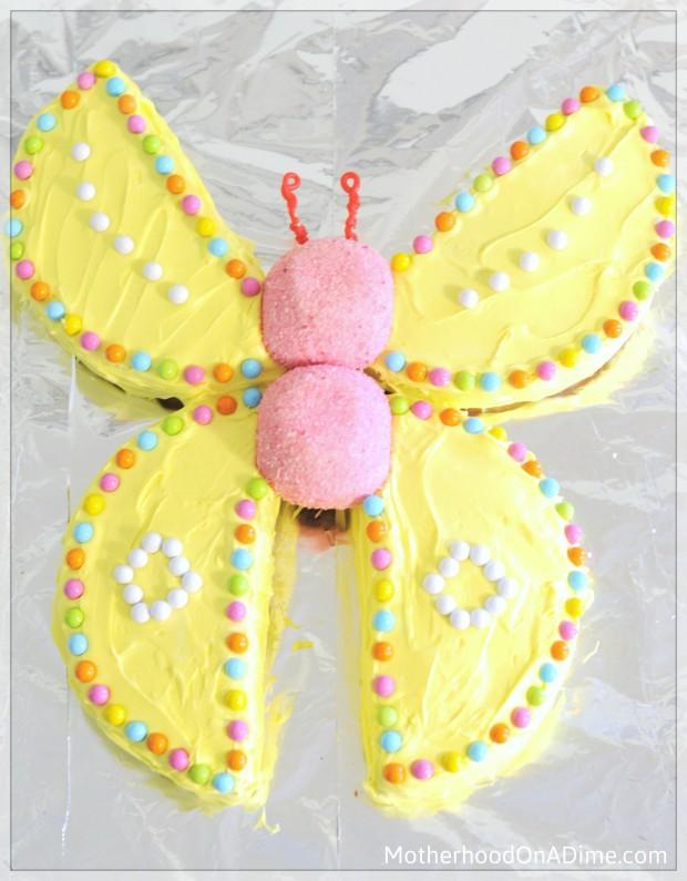 Butterfly Birthday Cake Idea