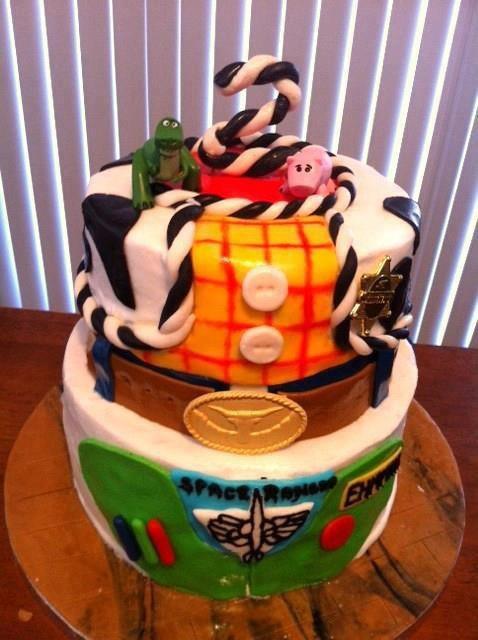 Buzz and Woody Cake
