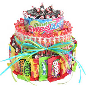 Cake Candy Tier Gift Baskets