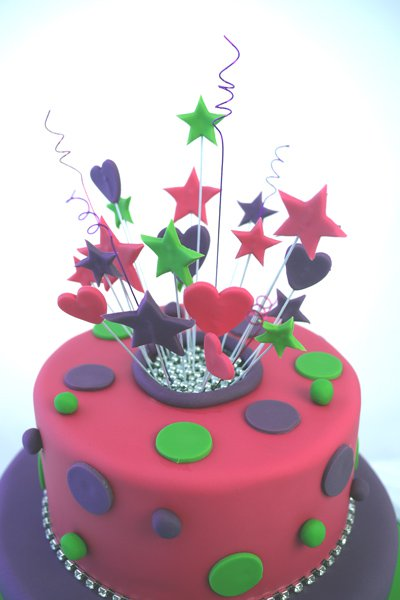 Cake Decorations with Stars