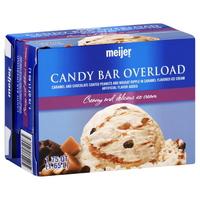 Candy Bar Overload Ice Cream