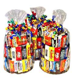 Candy Bouquet Gift Basket Ideas