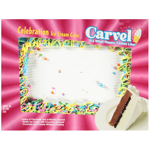 Carvel Celebration Ice Cream Cake