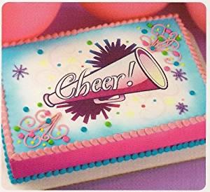 Cheerleading Megaphone Cake