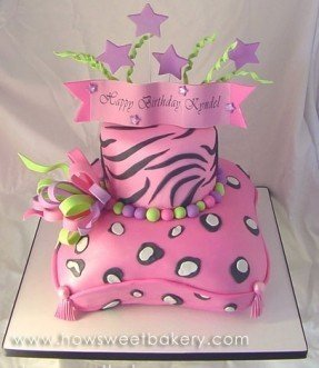 Cheetah Girls Birthday Cake