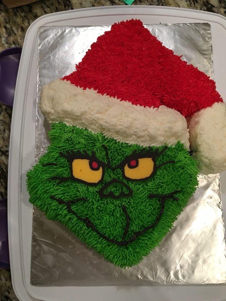 Christmas Grinch Cake Ideas