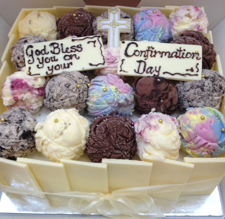 Confirmation Cake Ice Cream