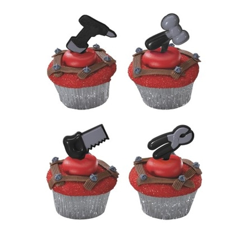 Construction Tools Cupcakes