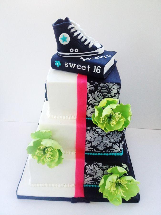 Converse Sweet 16 Cake