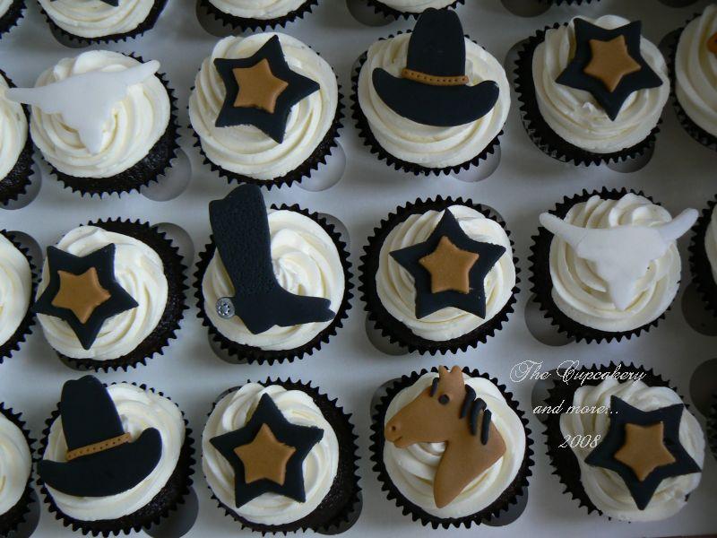 Cowboy Cupcake Cake Ideas