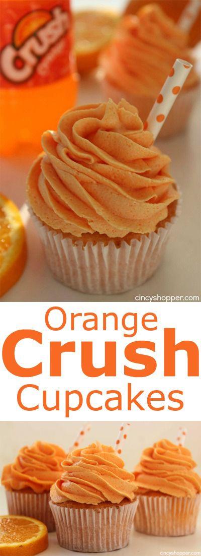 Crush Orange Soda Cupcakes