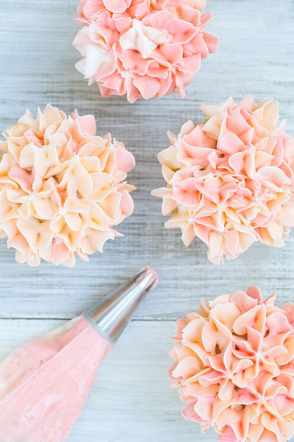 Cupcake Flowers Icing Tip