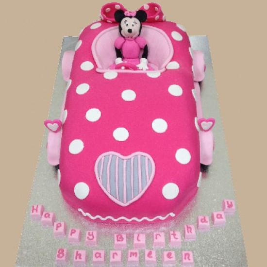 7 Photos of Unique Minnie Mouse Cakes