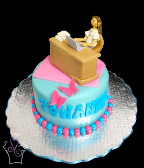 Desk Fondant Cake