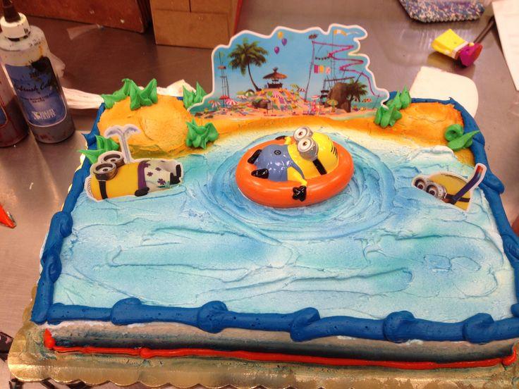 Despicable Me 2 Cake Walmart