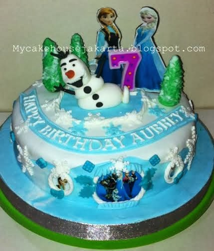 Disney Frozen Theme Cake