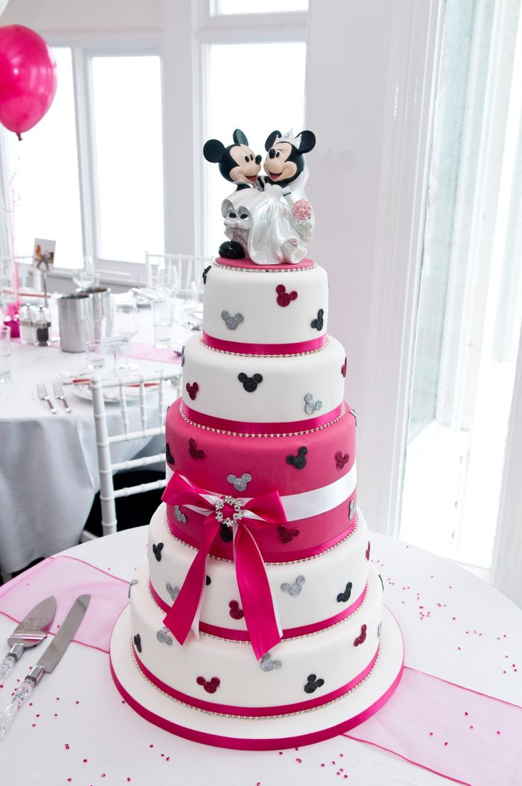 Disney World Themed Wedding Cakes