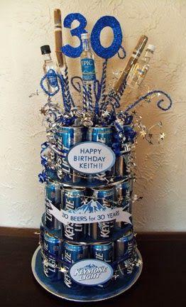 DIY Beer Can Cake