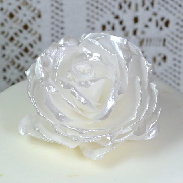 Edible Wedding Cake Roses Decorations
