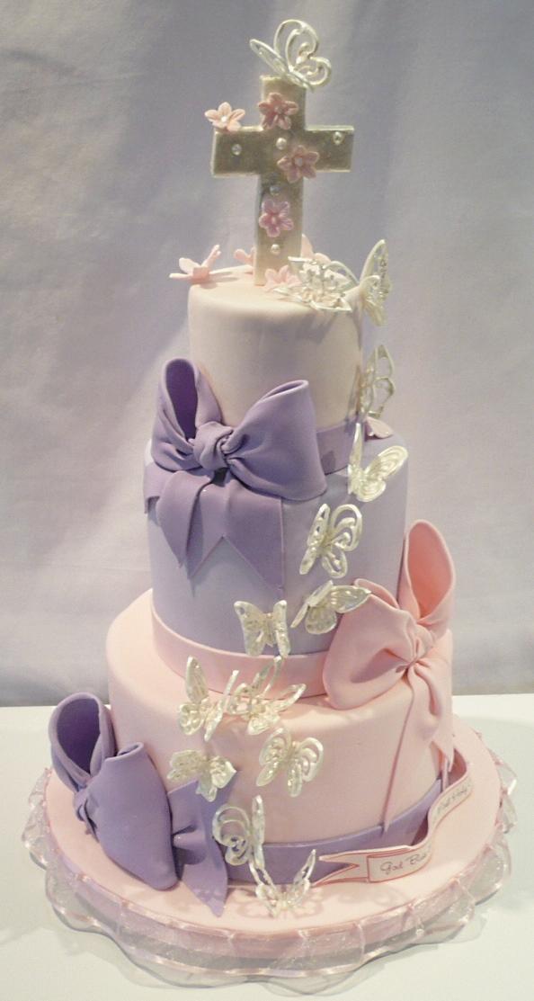 First Communion Girl Cake
