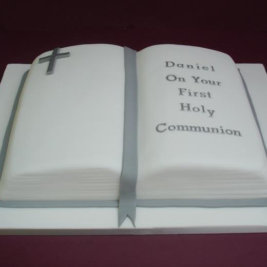 First Holy Communion Bible Cake