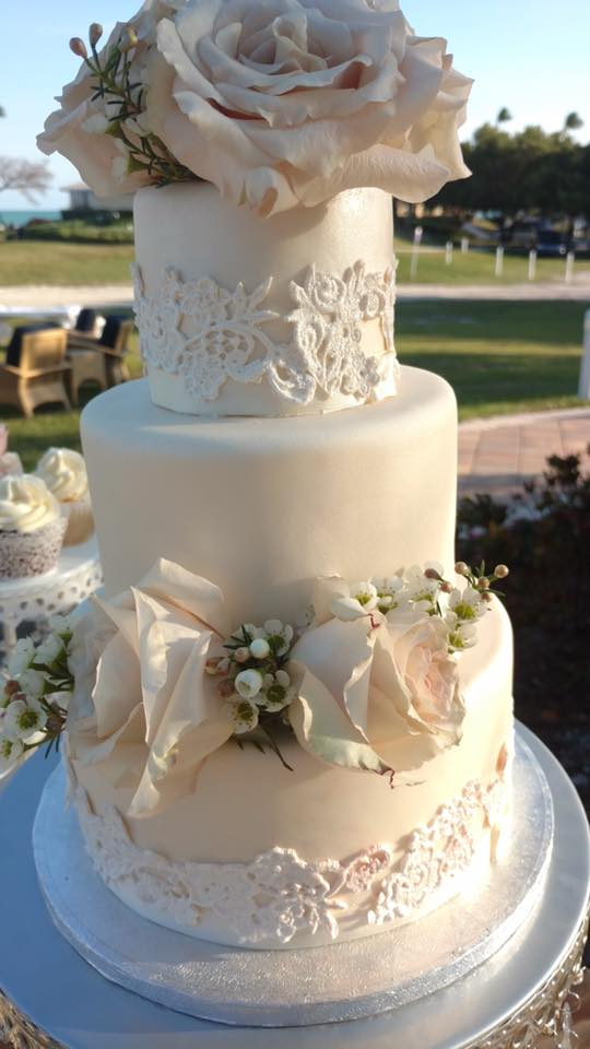 Florida Wedding Cake