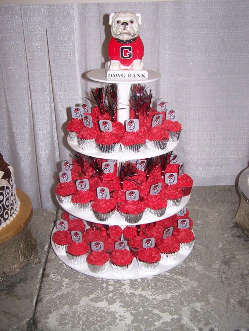 Georgia Bulldogs Grooms Cake