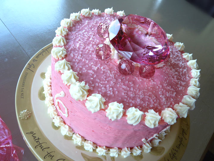 Girls Birthday Cake Jewel