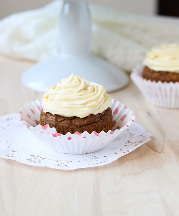 Gluten Free Sweet Potato Cupcakes