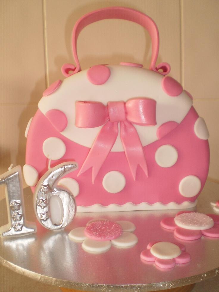 Handbag Birthday Cake