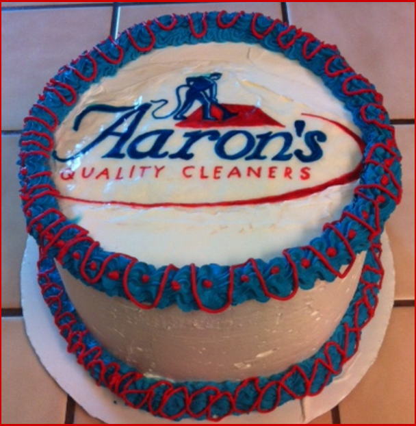 Happy Birthday Aaron Cake