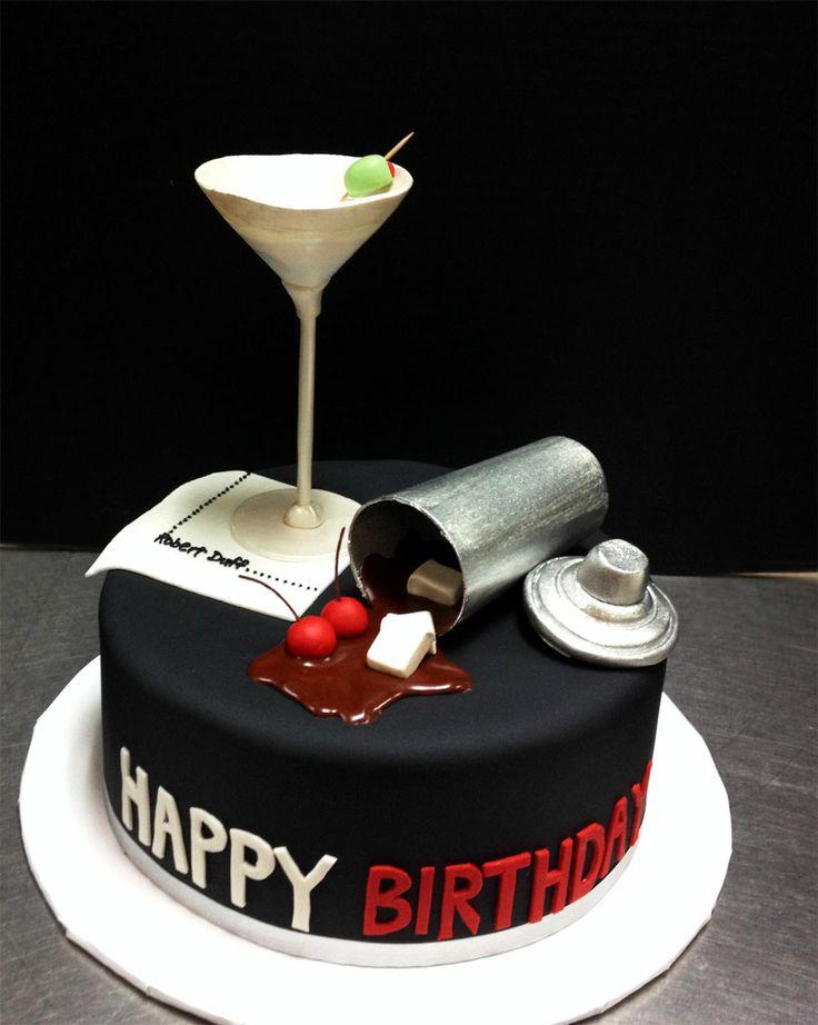 Happy Birthday Man Cake