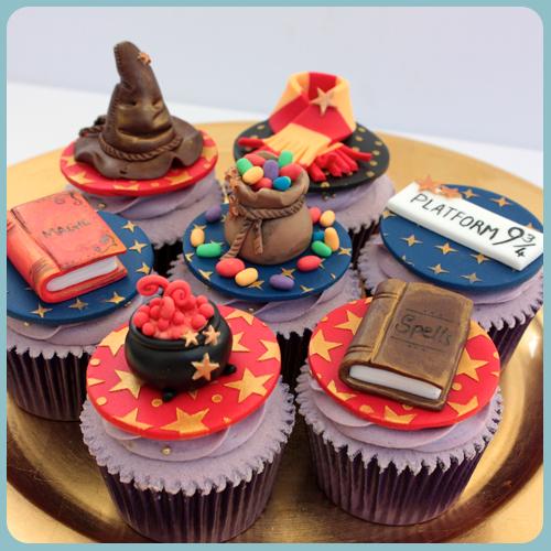 Harry Potter Cupcake Cake