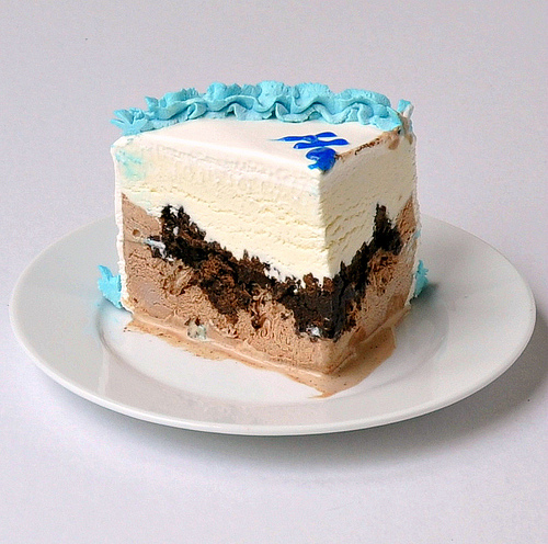 Homemade Ice Cream Cake Carvel