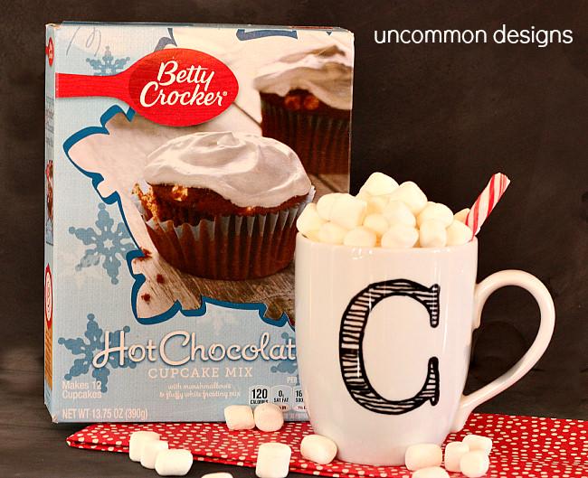 Hot Chocolate Cupcake Mix Betty Crocker