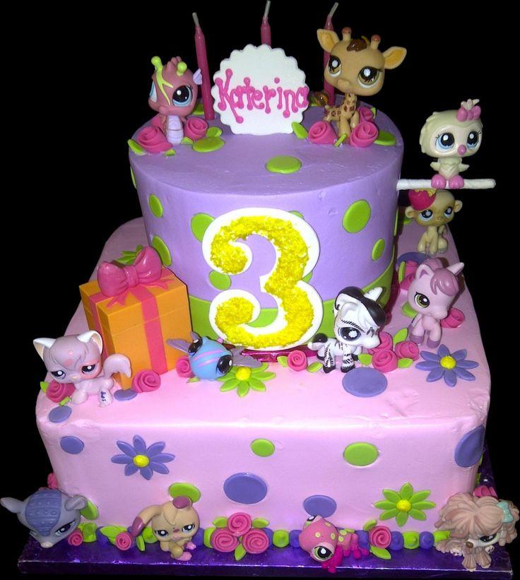 12 Photos of Littlest Pet Shoppe Birthday Cakes Rectangle