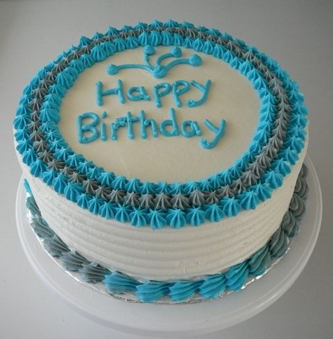 Male Birthday Cake