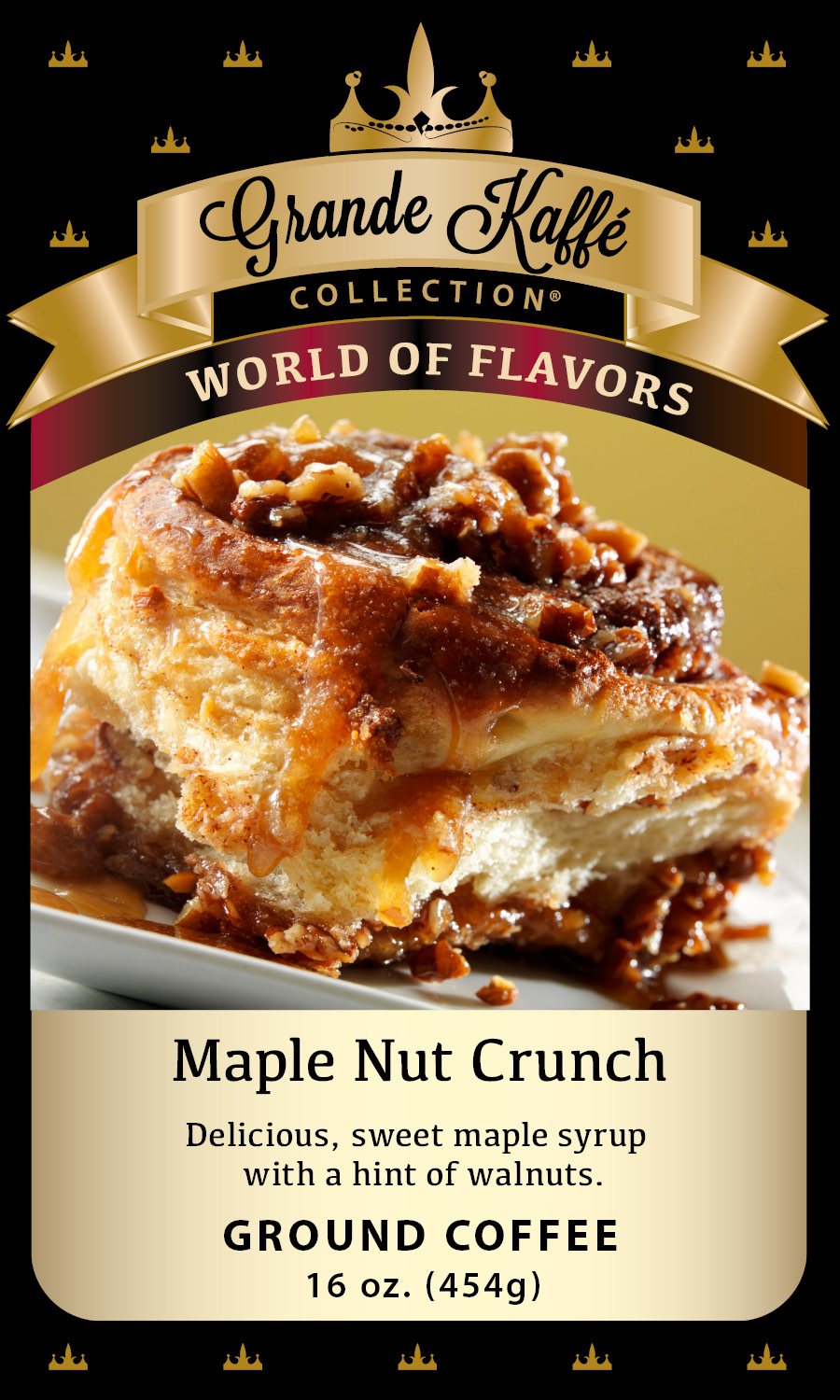 Maple Nut Crunch Coffee